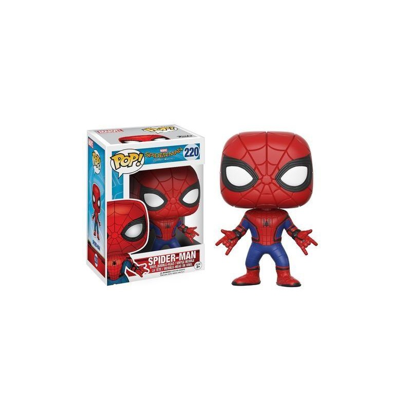 Funko Pop! Spider-Man Homecoming - Spider Man