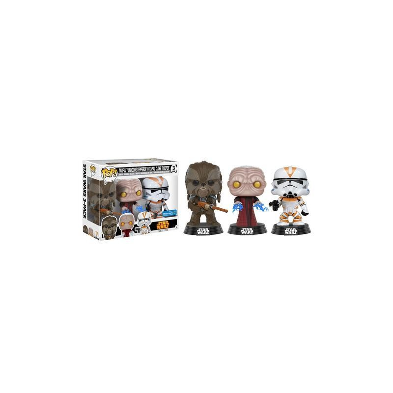 Funko Pop! Star Wars - Tarfful, Unhooded Emperor, Utapau Clone Trooper