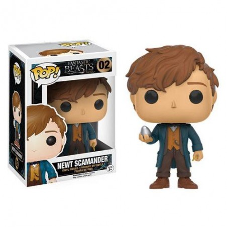 Funko Pop! Les Animaux Fantastiques - Newt Scamander with Egg