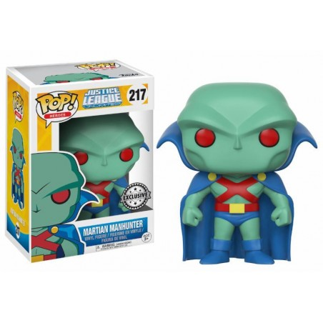 Figurine Pop Martian Manhunter Exclusive (Justice League Animated)