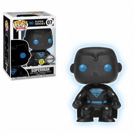 Funko Pop! DC - Justice League - Superman Silhouette GITD ( Exclusive )