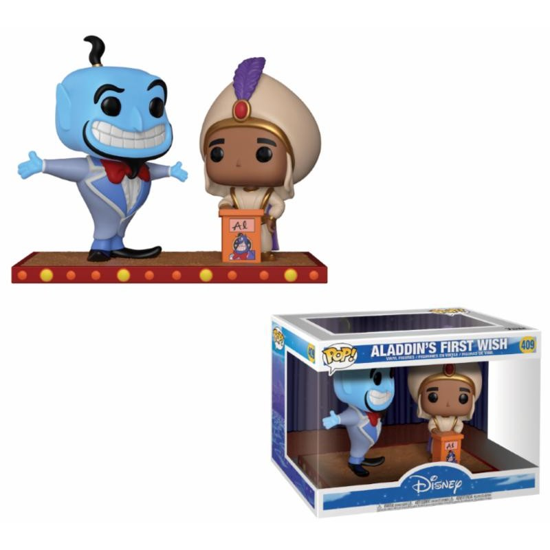 Funko Pop! Disney - Movie Moment - Aladdin & Le Genie