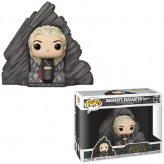 Figurine Pop Daenerys Sur Dragonstone Throne (Game Of Thrones)