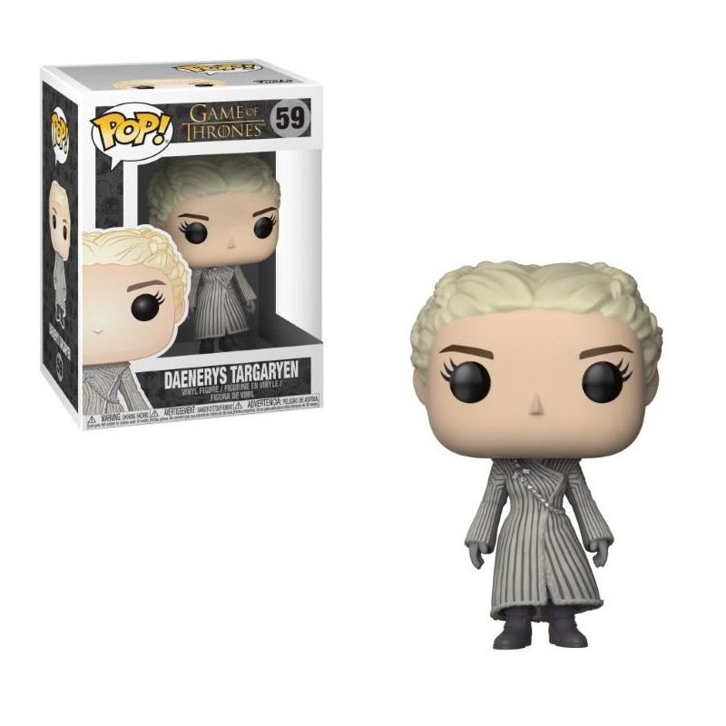 Funko Pop! Game Of Thrones - Daenerys Avec Manteau Blanc