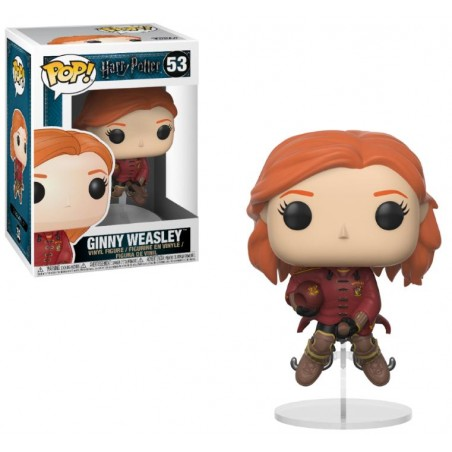 Funko Pop! Harry Potter - Ginny Weasley sur son balai