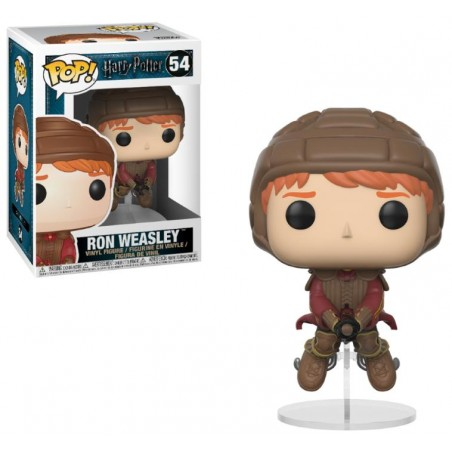 Figurine Pop Ron Weasley sur son Balai (Harry Potter)