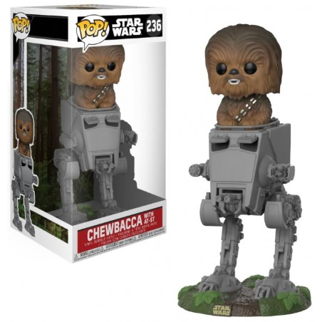Funko Pop! Star Wars - Chewbacca avec AT-ST