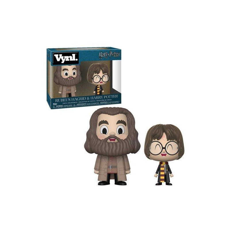 Vynl - Rubeus hagrid & Harry Potter
