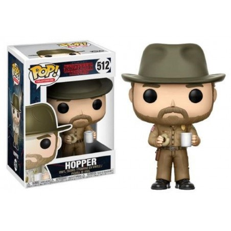 Funko Pop! Stranger Things - Hopper avec Donut