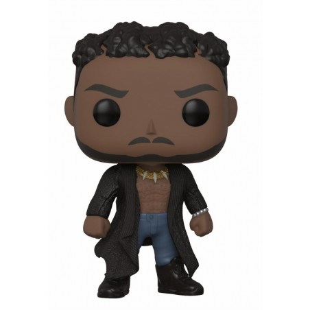 Figurine Pop Killmonger with scars (Black Panther)