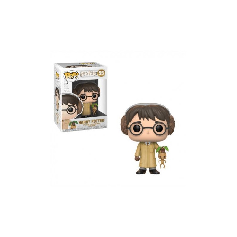 Figurine Pop Harry Potter avec Mandragore (Harry Potter Herbologie)