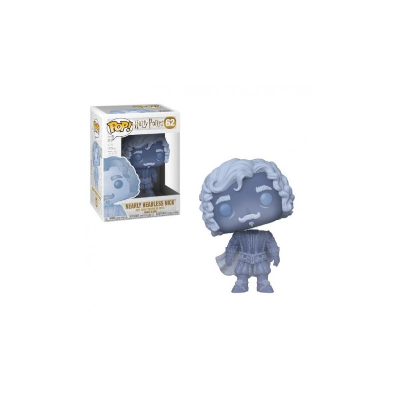 Figurine Pop Nick Quasi Sans Tête Translucide (Harry Potter)