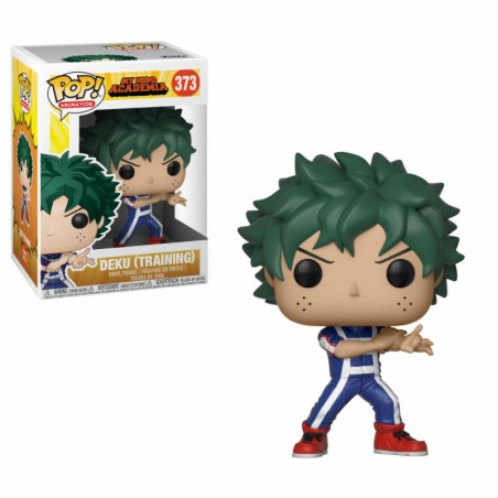 Figurine Pop Deku en tenue d'entrainement (My Hero Academia)