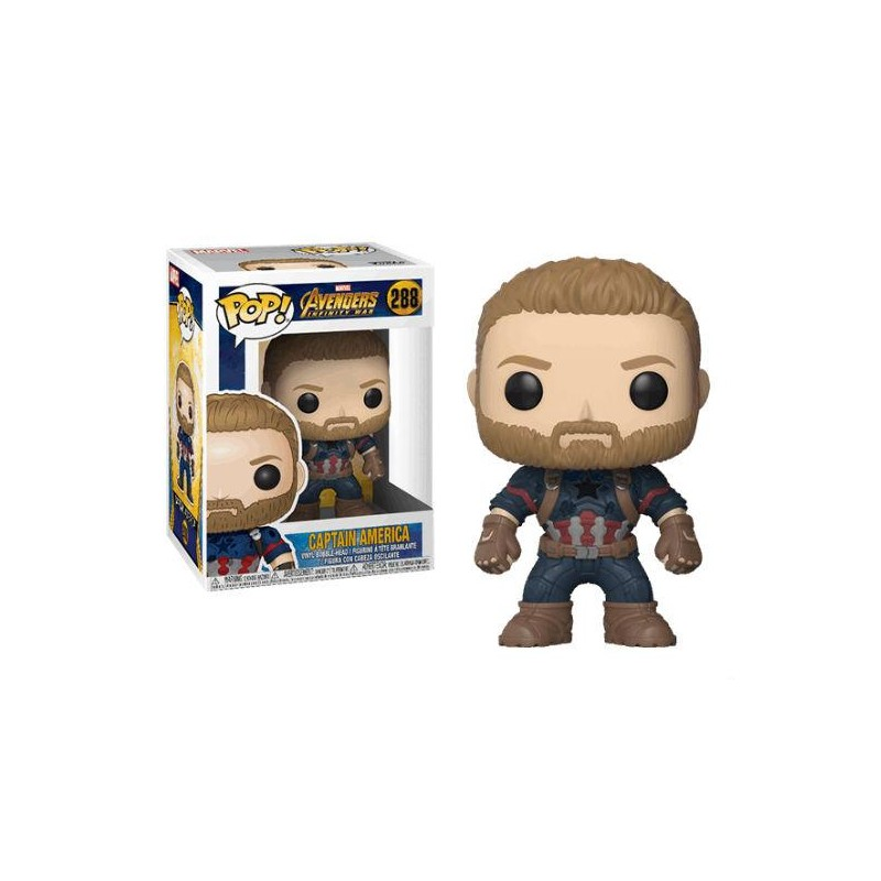 Figurine Pop Captain America (Avengers Infinity War)