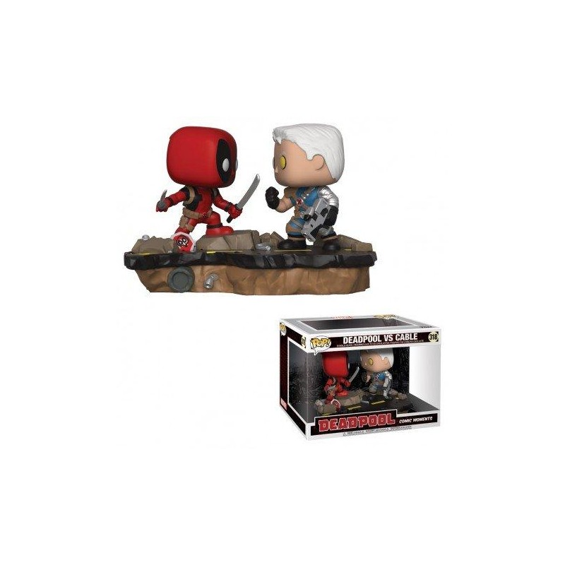 Figurine Pop Deadpool vs Cable Movie Moments (Marvel Deadpool)