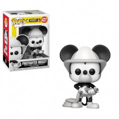 Figurine Pop Mickey pompier (Disney Mickey 90 ans)