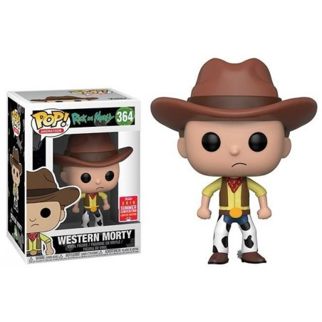 Figurine Pop Western Morty SDCC 2018 (Rick and Morty)