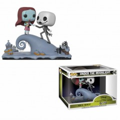 Figurine Pop Jack & Sally sur la colline Movie Moment (Disney L'étrange noel de Monsieur Jack)