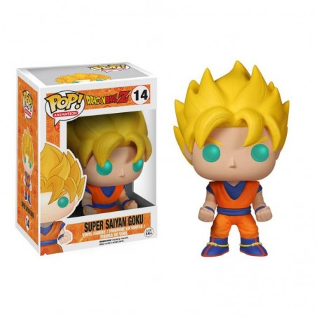 Figurine Pop Super Saiyan Goku (Dragon Ball Z)