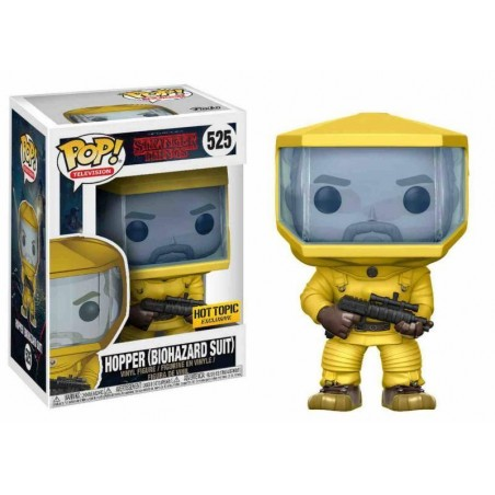 Figurine Pop Hopper Costume Biohazard Exclusive (Stranger Things)