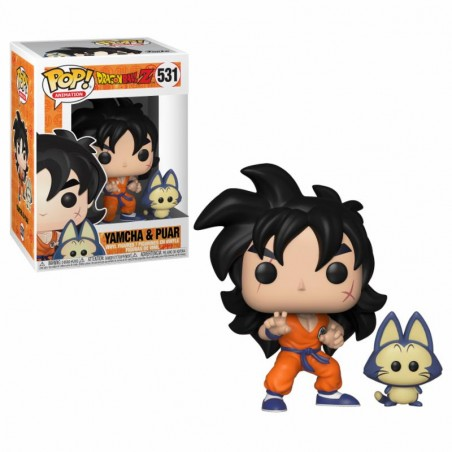 Figurine Yamcha & Puar (Dragon Ball Z)