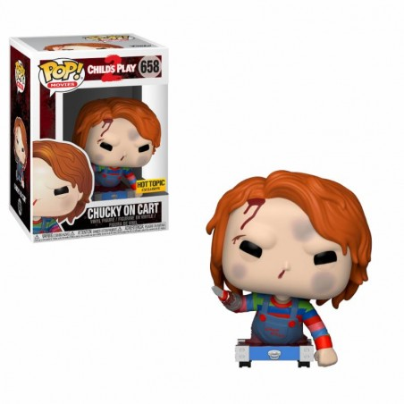 Figurine Chucky On Cart Exclusive (Child's Play 2)