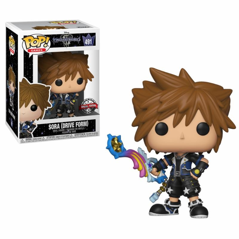 Figurine Sora Drive Form Exclusive (Kingdom Hearts)