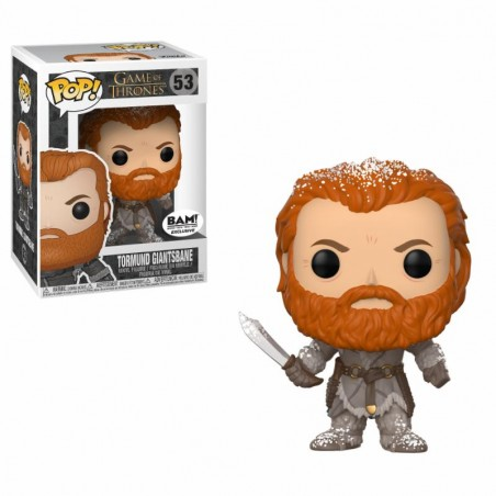 Figurine Tormund Snow Covered Exclusive (Game Of Thrones)