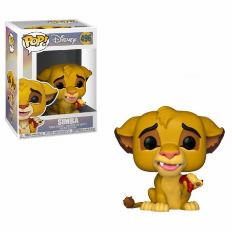 Figurine Pop Simba (Le Roi Lion)