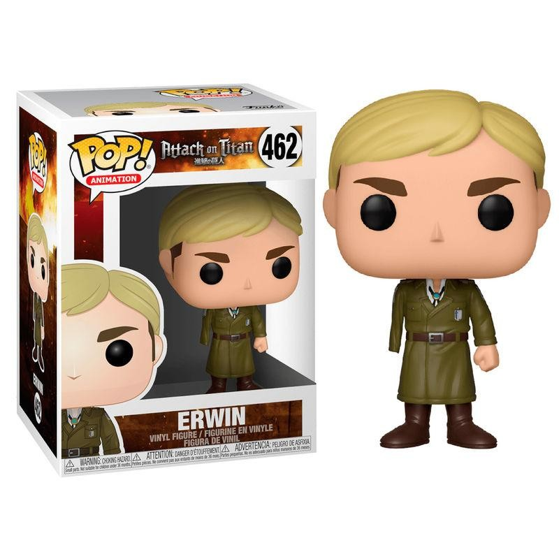 Figurine Pop Erwin One Armed (L'Attaque Des Titans)