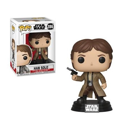 Figurine Pop Han Solo Endor (Star Wars)