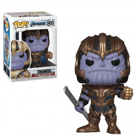 Figurine Pop Thanos (Avengers Endgame)