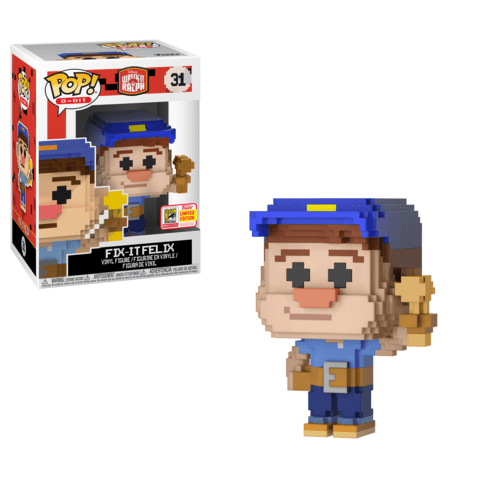 figurine-pop-8-Bit-wreck-It-ralph-fix-It Felix-sdcc-2018