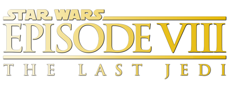 Logo Star Wars episode 8 the last jedi