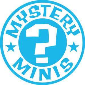 logo mystery minis